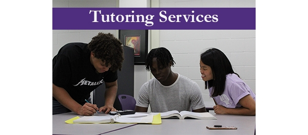 Tutoring Services - Available Online and In Person in Torreyson 223