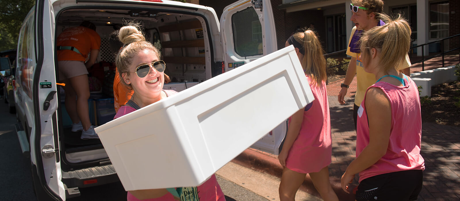 Move-In Day - August 19