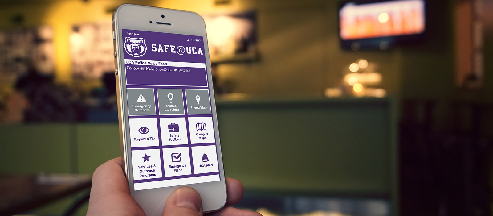 Download the Safe@UCA App