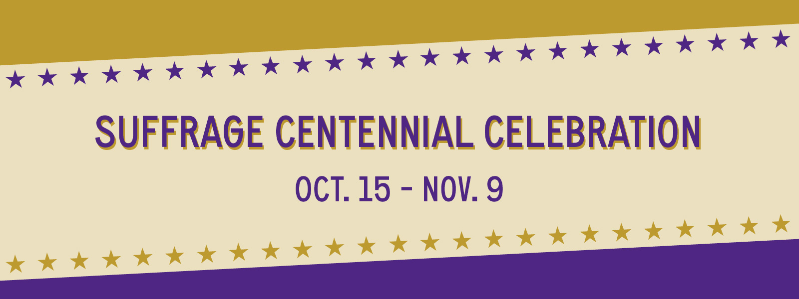 Suffrage Centennial Celebration