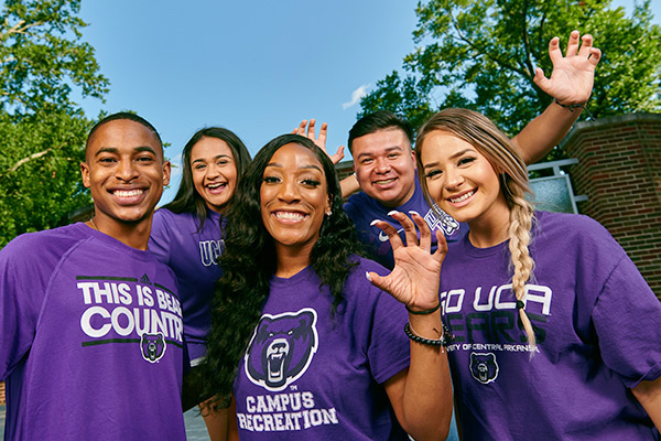 UCA Students Spirit Photo