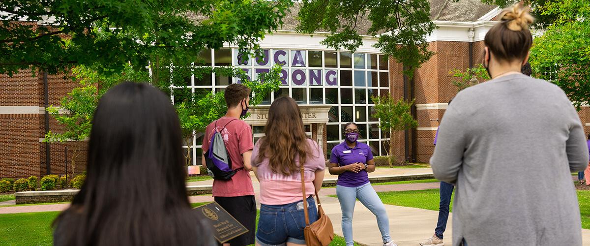 Campus Tour Social Distancing